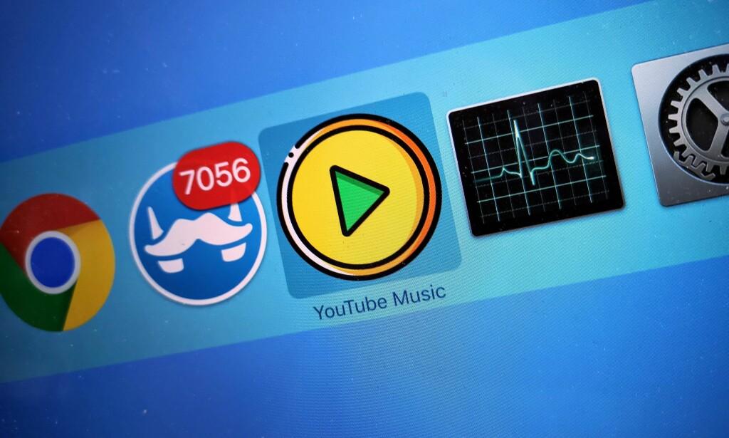 EGEN APP: Nylanserte YouTube Music har ingen egen app - det kan du enkelt fikse selv. Foto: Pål Joakim Pollen