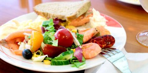 image: Test av maten på danskebåten SuperSpeed