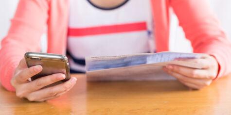 image: Sparebank 1 tilbyr seg å betale regningen din, og gir deg tre måneder utsettelse