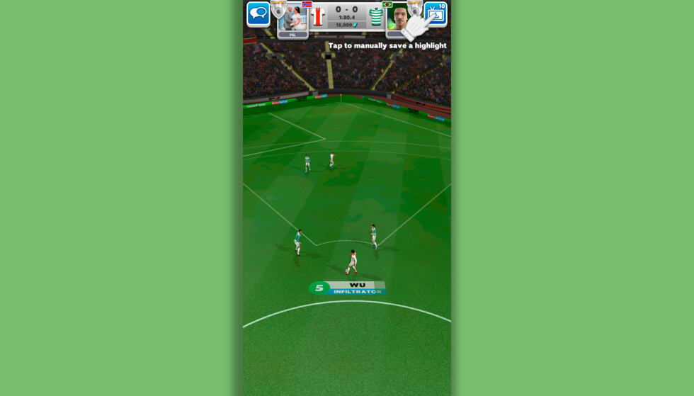 Score! Match. Skjermbilde: Pål Joakim Pollen
