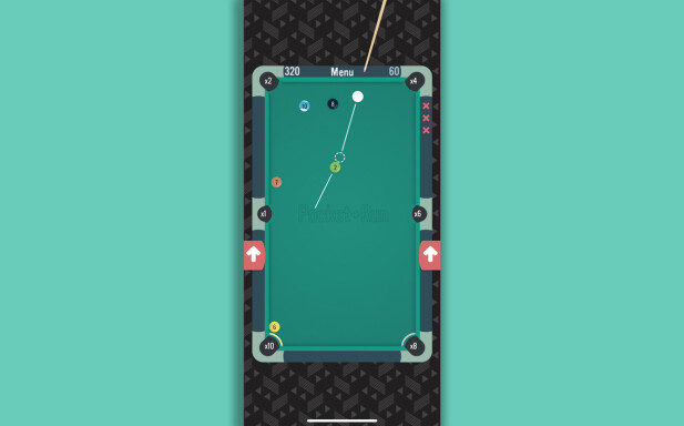 Pocket-run Pool. Skjermbilde: Pål Joakim Pollen