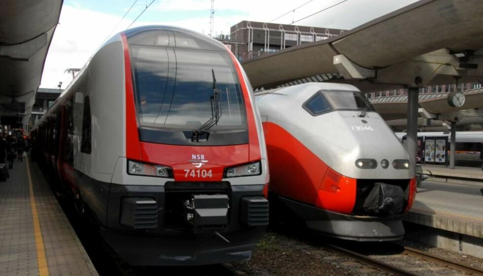 PLASSEN AVGJØR: Mens det første toget om morgenen fra Oslo til Bergen kan ta med et stort antall sykler, har de fleste avganger bare plass til 4-5 stykker. Foto: Brynjulf Blix