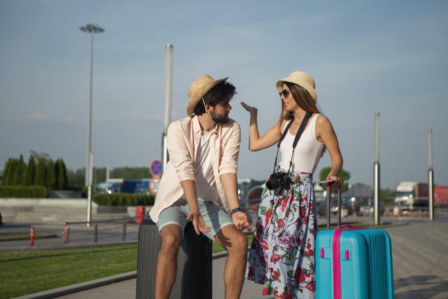 HVEM HAR RÅD TIL DROSJE?: Har dere akkurat kommet hjem fra ferien og er helt blakke, er det om å gjøre å få privatøkonomien på rett kjøl igjen så fort som mulig, ifølge ekspertene. Foto: Shutterstock/NTB Scanpix.