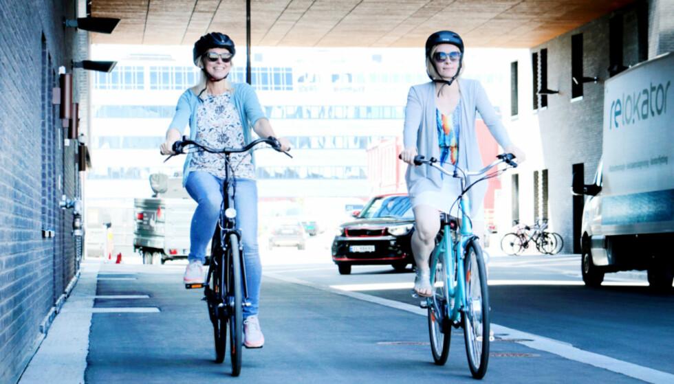 FORBUDT: Vil du ta elsykkelen med til utlandet, må du velge noe annet enn fly. Foto: Ole Petter Baugerød Stokke