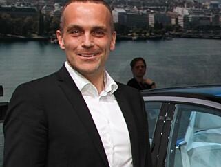 IGJEN PÅ LAGER: – Vi har noen biler på lager som vi kan selge utover høsten, sier VW-sjef i Norge, Harald Edvardsen-Eibak. Foto: Rune Korsvoll