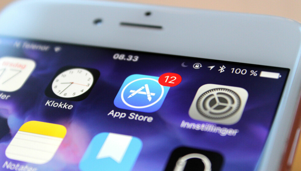 14 DAGER: Hvis du har iPhone, kan du angre på app-kjøp i 14 dager etter at kjøpet ble gjort. På Android må du være kjappere ute. Foto: Kirsti Østvang