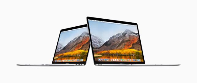 13 OG 15: Som tidligere, kommer nye Macbook Pro i to størrelser. Foto: Apple