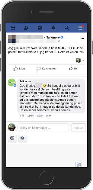 IKKE FULL KVOTE: Første måned i et nytt mobilabonnement kan det være at du ikke får full datakvote, og heller ikke betaler full pris. Foto: Ole Petter Baugerød Stokke