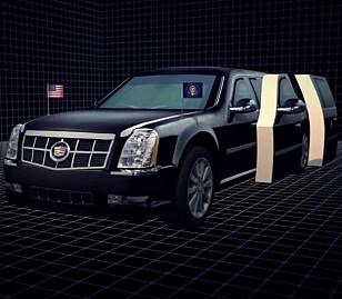 NYTT BEIST: Dette er den nye «Beast», som President Trump skal bli transportert i til høsten. Foto: Fox News