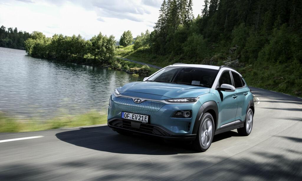 image: Her er testen av Hyundai Kona