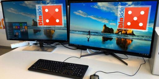 image: Duell: To svære PC-skjermer til en rimelig penge