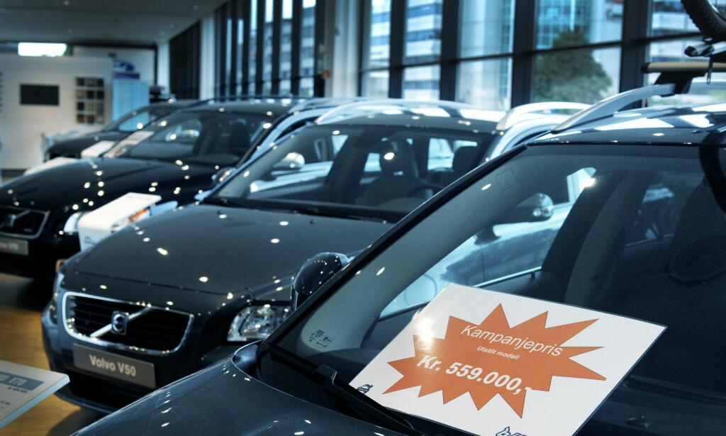LAVESTE SIDEN 2009: Dette bildet ble tatt forrige gang salgstakten for nye biler var like lav som nå - for ni år siden. Foto: John T. Pedersen/Dagbladet