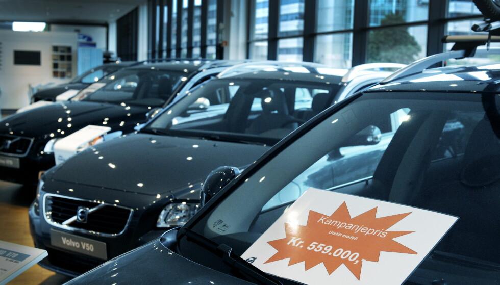 <strong>LAVESTE SIDEN 2009:</strong> Dette bildet ble tatt forrige gang salgstakten for nye biler var like lav som nå - for ni år siden. Foto: John T. Pedersen/Dagbladet