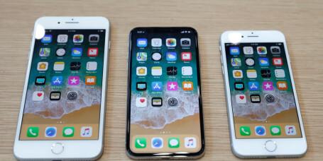iPhone X-lekkasje avslører større modell