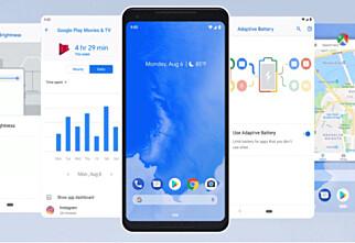 I dag kom nye Android 9 Pie