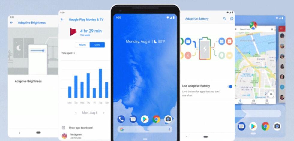 image: I dag kom nye Android 9 Pie