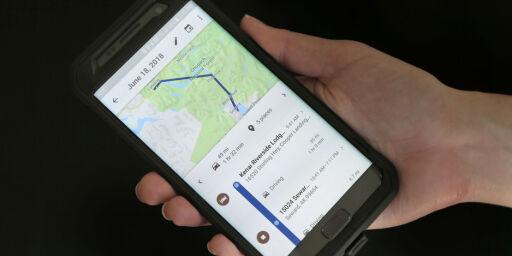 image: Selv om du har skrudd av posisjonsloggen, sporer Google bevegelsene dine
