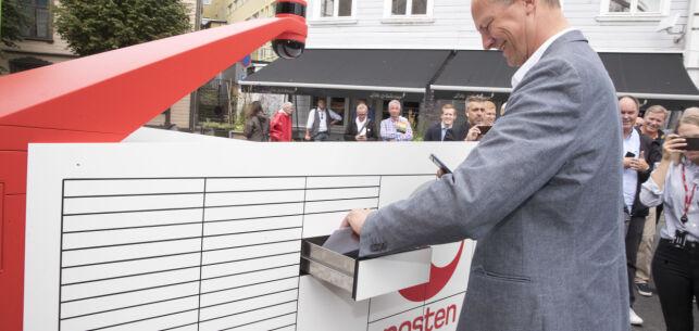 image: Robot skal levere brev og pakker hjem til nordmenn