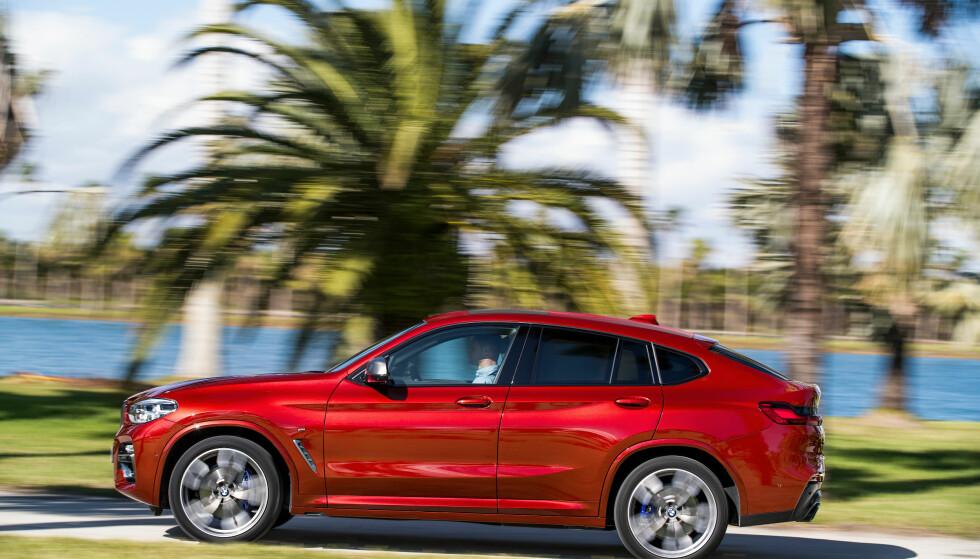 HELT NY BMW X4: Etter bare fire år og 200.000 solgte verden over er første generasjon X4 byttet ut. Foto: BMW