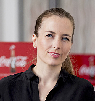 TROR PÅ STYRKET MERKEVARE: Kommunikasjonssjef Mette Vinther Talberg. Foto: Coca-Cola Norge.
