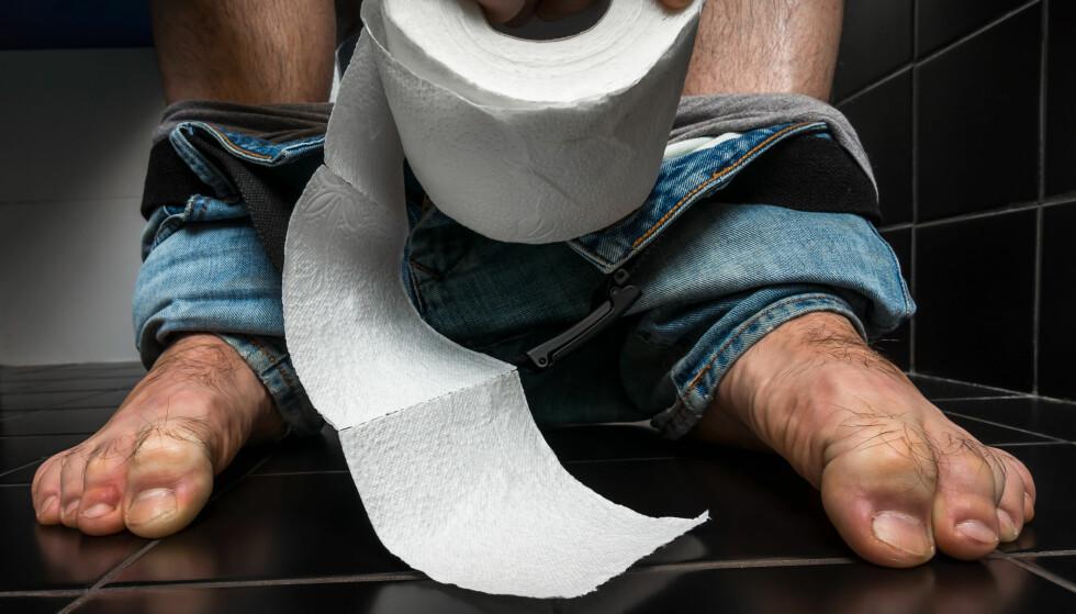 OMGANGSSYKE: Diaré og oppkast er vanlige symptomer på omgangssyke. Foto: NTB scanpix