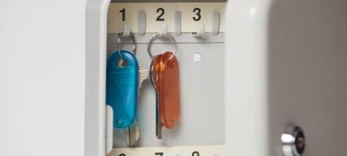 8 av 10 oppbevarer bilnøkkelen feil