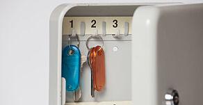 image: - Ikke oppbevar nøkkelen din her