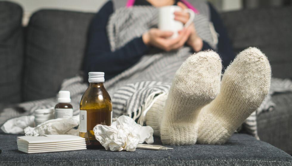 SYK? Hvor lenge venter du med å gå tilbake på jobb etter sykdom? Foto: NTB Scanpix