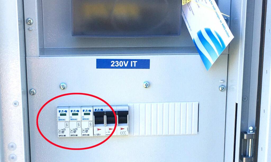 image: Ikke sikkert at ekstravernet i sikringsskapet fungerer
