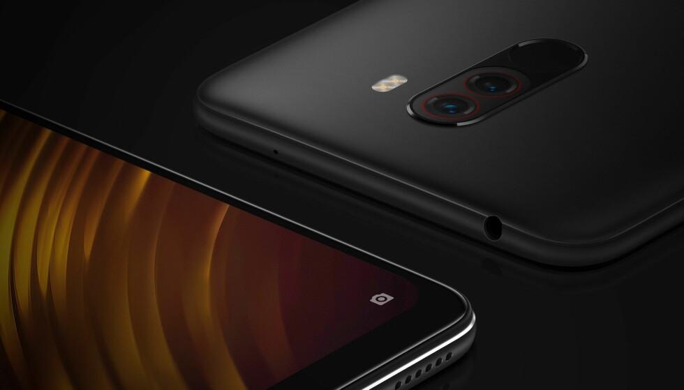 NYTT MERKE: Poco F1 blir første telefon ut fra Xiaomis dattermerke Poco. Foto: Poco