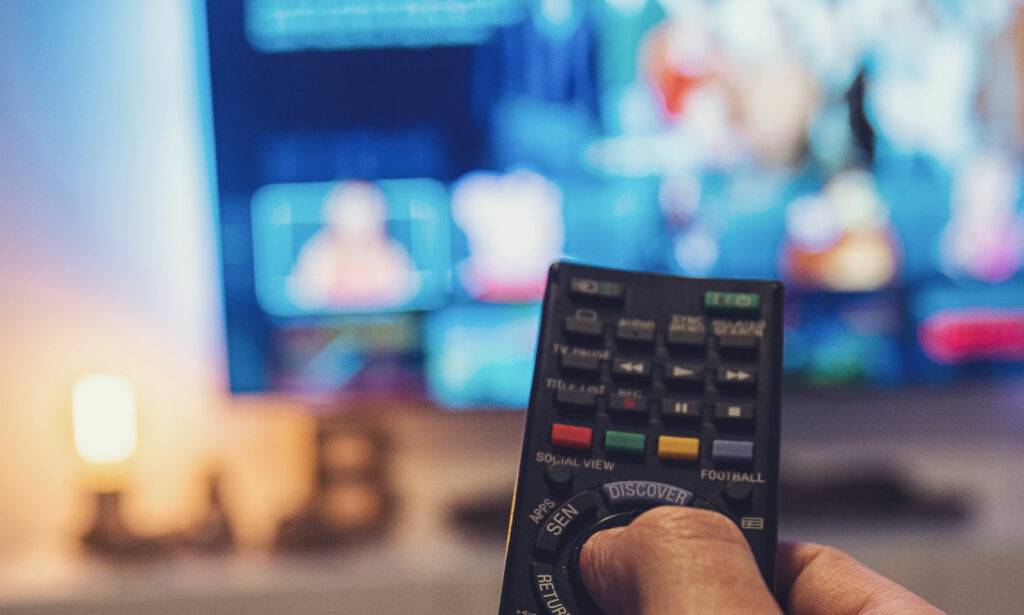 image: Se filmer og serier sammen - på hvert deres sted