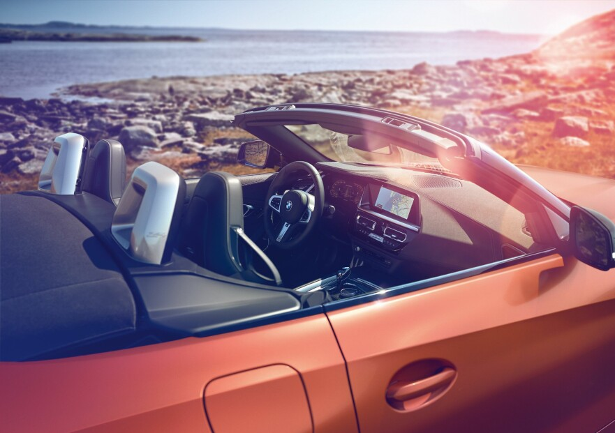 HEMMELIG FOTO-SESSION: Her er helt nye generasjon Z4 på fotoreportasje i Norge - i god tid før avdukingen, som skjer i USA. Foto: BMW