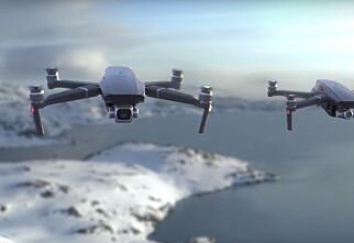 Ikke bare én, men to nye DJI-droner