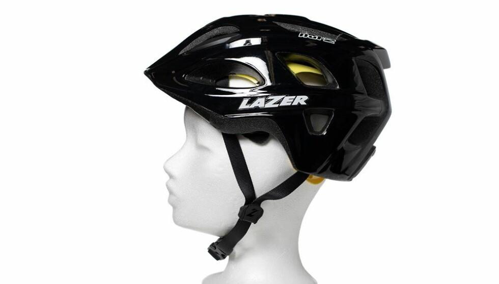 BESTE SYKKELHJELM FOR BARN: Lazer Nut´s Mips beskytter best mot hodeskader, viser NAF og Testfaktas test. Foto: NAF