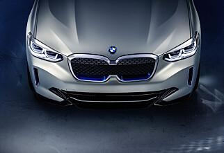 BMWs nye elbil er i Norge