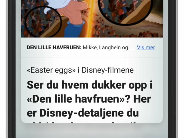 KJAPP TITT: Om du bare vil se hva overskriften i artikkelen er. Foto: Ole Petter Baugerød Stokke