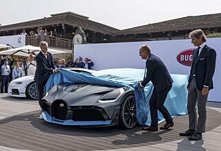 Den banker Bugatti Chiron. Pris: 48 millioner kroner