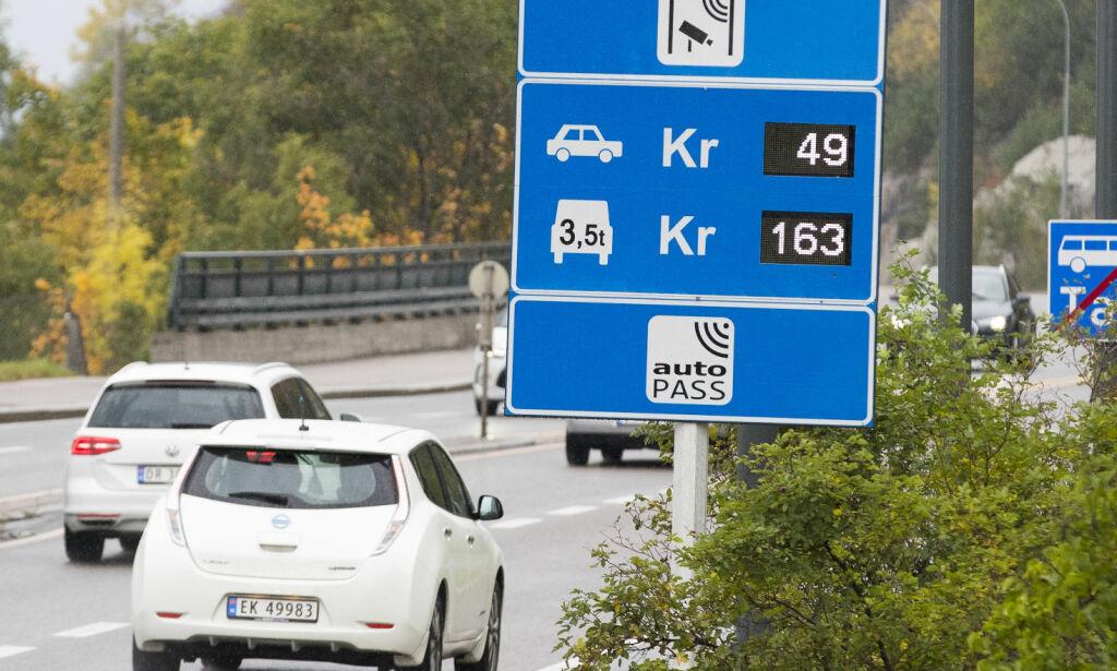 image: Stor nedgang på diesel og bensin i bomringene