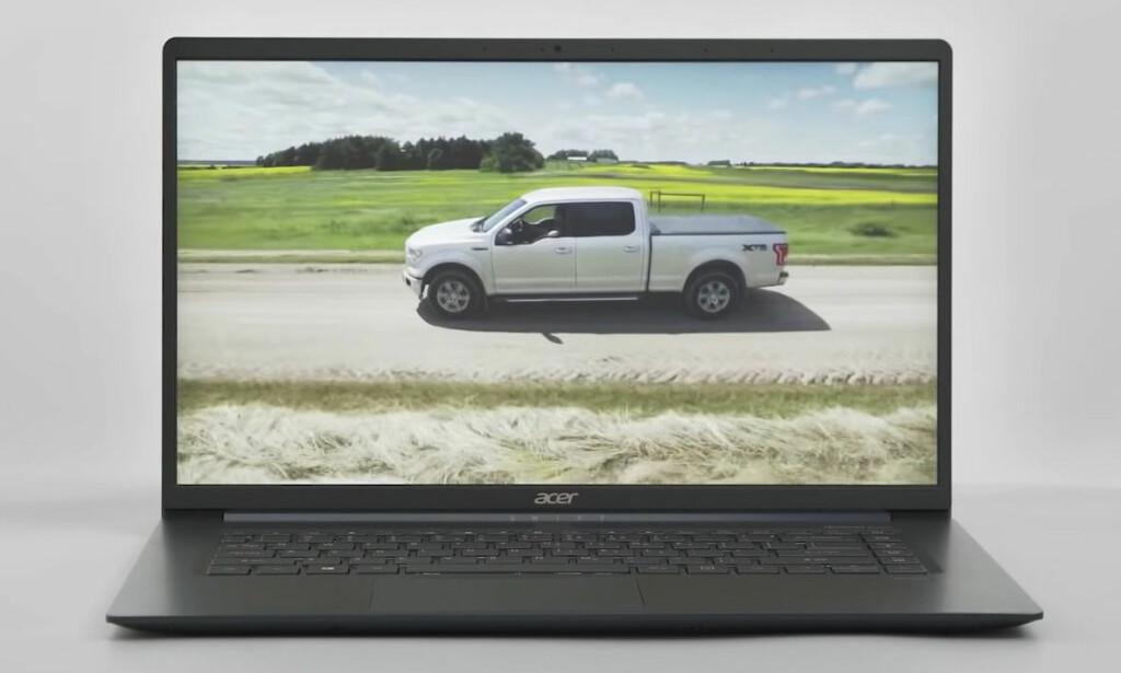 KOMMER I NOVEMBER: Acers 15-tommersutgave av Swift 5 blir å få kjøpt fra november av. Foto: Acer