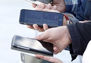 Hvem har ansvaret for mobilene når skolen samler dem inn?