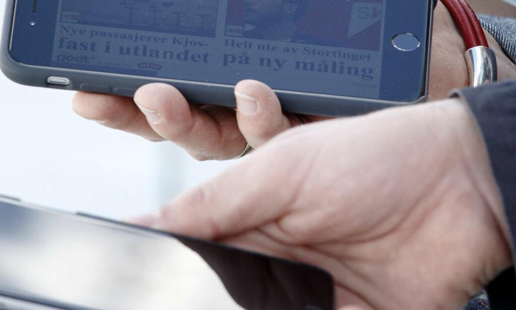 image: Hvem har ansvaret om mobilen blir stjålet på skolen?