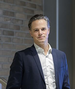 KREVER EGENANDEL: DNB krever en egenandel på 12.000 kroner, kan kommunikasjonssjef Even Westerveld fortelle. Foto: Gorm Kallestad / NTB Scanpix