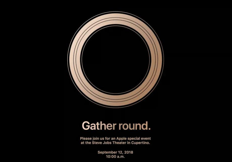INVITERER TIL LANSERING: Apple har sendt ut invitasjoner til sin årlige iPhone-lansering i september. Foto: Apple
