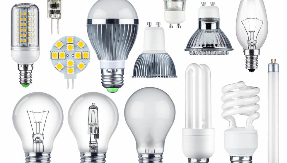 FORBUD MED UNNTAK: Glødelamper ble det forbudt å selge allerede i 2013 og 2014. Sparepærene ble faset ut i 2016. Nå er det halogenlampenes tur. Men det finnes flere unntak. Foto: Stockphoto-Graf/Shutterstock/NTB scanpix