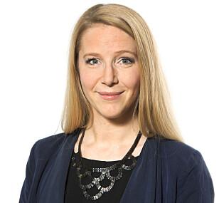 FORKLARER: Talsperson Astrid Mannion-Gibson i Norwegian blir ikke ofte spurt om setekartene sine, men har svar. Foto: Norwegian