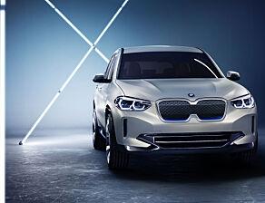 image: Nå kan norske kunder reservere BMW iX3 - med Vipps-betaling