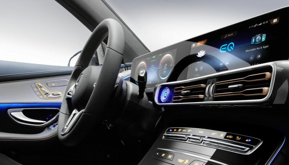 Første el-SUV fra Mercedes Benz vist fram - sjekk bildene