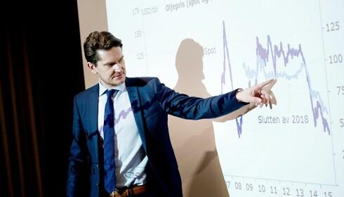 Kjetil Olsen i Nordea Markets. Foto: NTB Scanpix