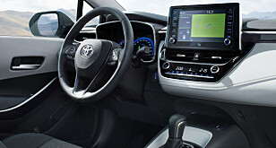 3D: Ifølge Toyota blir Corolla Touring Sports verdens første bil med 3D-intrument. Foto: Toyota
