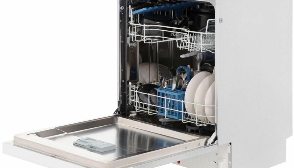BRA KJØP: Baumatic BDI 2L952-80 til 250 britiske pund (om lag 2.700 norske kroner) får samme poengsum både på vask, tørk og energiforbruk som prestisjemerket Miele G 4722 ScI til 899 pund (om lag 9.791 kroner). Når det gjelder støy, vinner likevel Miele-maskinen stort i Which!-testen. Foto: Baumatic)